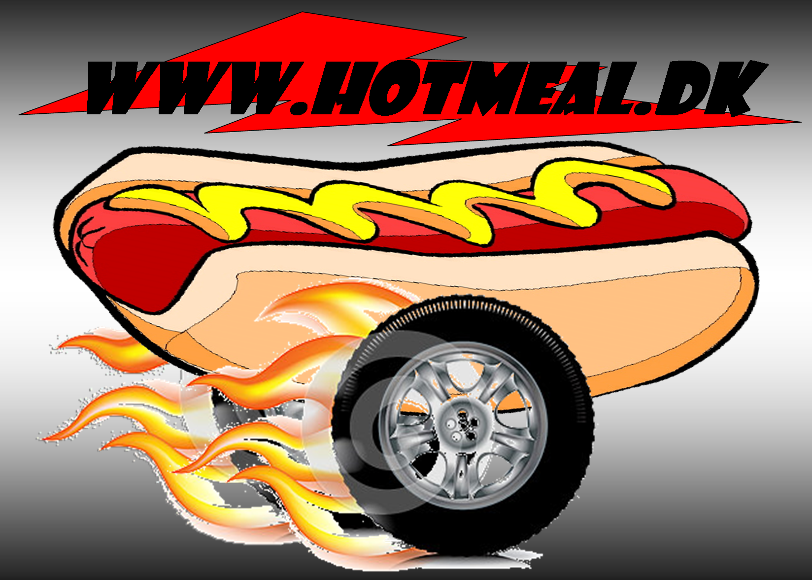 "HOT MEALS PØLSEVOGN UDLEJES ""MOBIL HOT DOGS"""